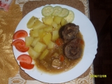 Hovězí rolka se zeleninou recept
