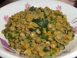 Voňavá čočka s mrkví a špenátem recept