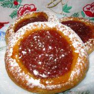 Kynuté koláčky s marmeládou recept