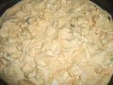 Sýrový salát s vejci recept