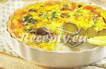 Slaný koláč s růžičkovými kapustičkami recept  zeleninové pokrmy ...