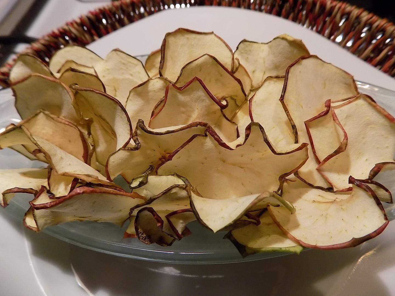 Jablkové chipsy recept