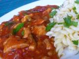 Kuřecí v rajčatové omáčce recept