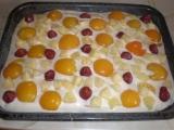 Ovocná tvarohová buchta recept