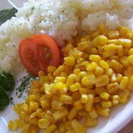 Jasmínová rýže s kukuřicí recept