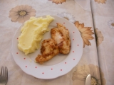 Kuřecí řízečky v česneku recept