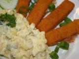 Bramborový salát bez zeleniny recept