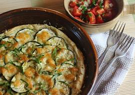 Slaný cuketový koláč s mozzarellou a bazalkovou vůní recept ...