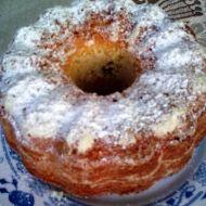 Jablková bábovka s pudinkem recept