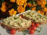 Škvarkovo-bramborová pomazánka recept