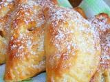 Tvarohové taštičky plněné kousky jablek recept