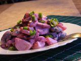 Salát z červené řepy, brambor a fazolí recept