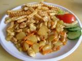 Kuřecí prsa s ananasem recept