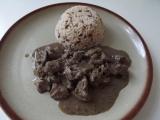 Játra na víně s rýží recept