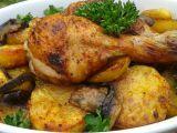 Kuřecí stehna pečená s brambory v sáčku recept