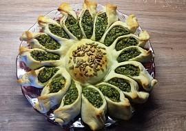 Špenátová slunečnice recept