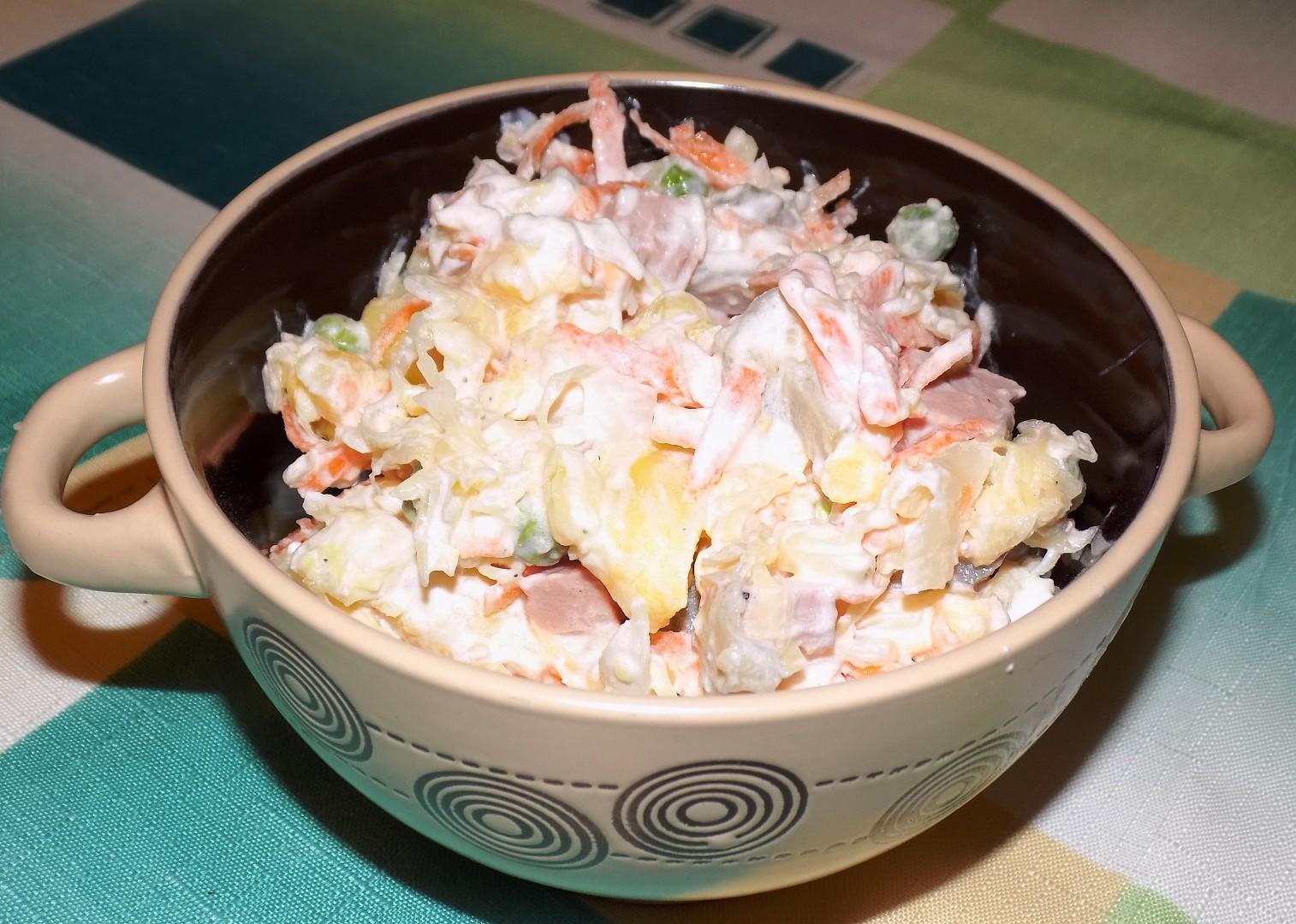 Záhorácky salát recept
