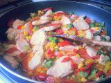 Zeleninová pánev s kuřecím masem recept
