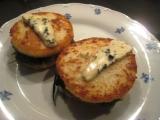 Krupicový sendvič se sýrem a špenátem recept