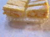 Pomerančové řezy se šlehačkou recept