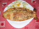 Ryba v křehkém těstě recept