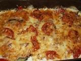 Zapečená cuketa s rajčaty recept