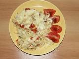 Zapečené těstoviny s paprikou recept