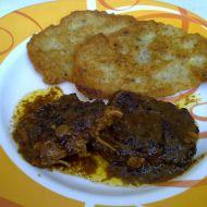 Roštěnky na slanině, houbách a celeru recept