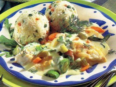Rybí guláš s risi-bisi