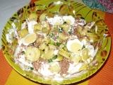 Bramborový salát s tuňákem recept
