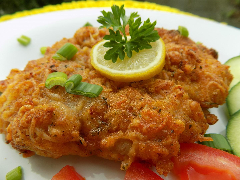 Kuřecí křupavé řízky z trouby recept