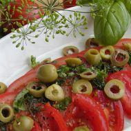 Rajčatový salát s koprem recept