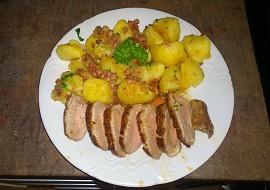 Kachní prsa s tyrolskými bramborami recept