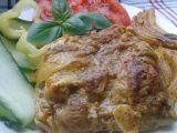 Kuřecí stehení řízky pečené na hořčici recept
