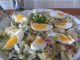 Lehký dietní bramborový salát recept