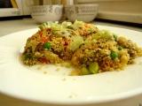 Kuskus se zeleninou a hlívou ústřičnou recept