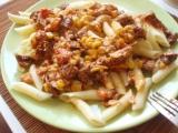 Těstoviny se sušenými rajčaty recept