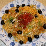 Špagety aglio olio recept