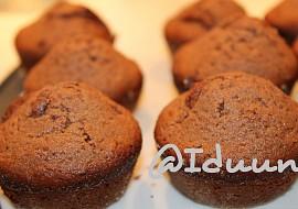 Čokoládové muffiny  hrníčkový recept
