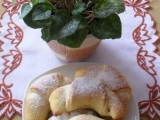 Rohlíčky s jablečnou náplní recept