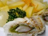 Rybí rolka vařená v páře recept