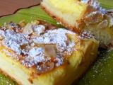 Tvarohovo-jablečný kynutý koláč recept