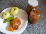 Melounovo-fíkové čatní s jablky recept