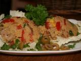 Kuskus s kuřecími kousky a zeleninou recept