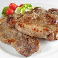 Pikantní vepřová krkovice na grilu recept