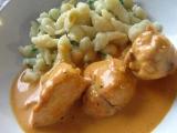 Kuře na smetaně recept