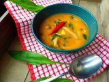 Polévka z hlívy s fazolemi a medvědím česnekem recept ...