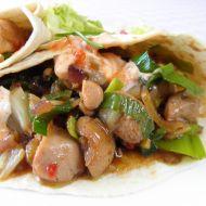 Plněná kuřecí tortilla recept