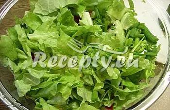 Švédský sýrový salát recept  saláty