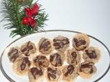 Chriapky-ořechové pusinky na oplatce recept